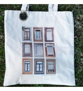 "Tote Bag ""Porto Windows"""