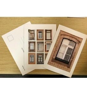 Postcard Photograph of Porto Window